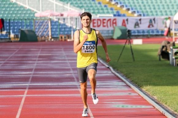 Снимка: Мартин Проданов се класира за финала на 1500 м на Европейското под 23 години