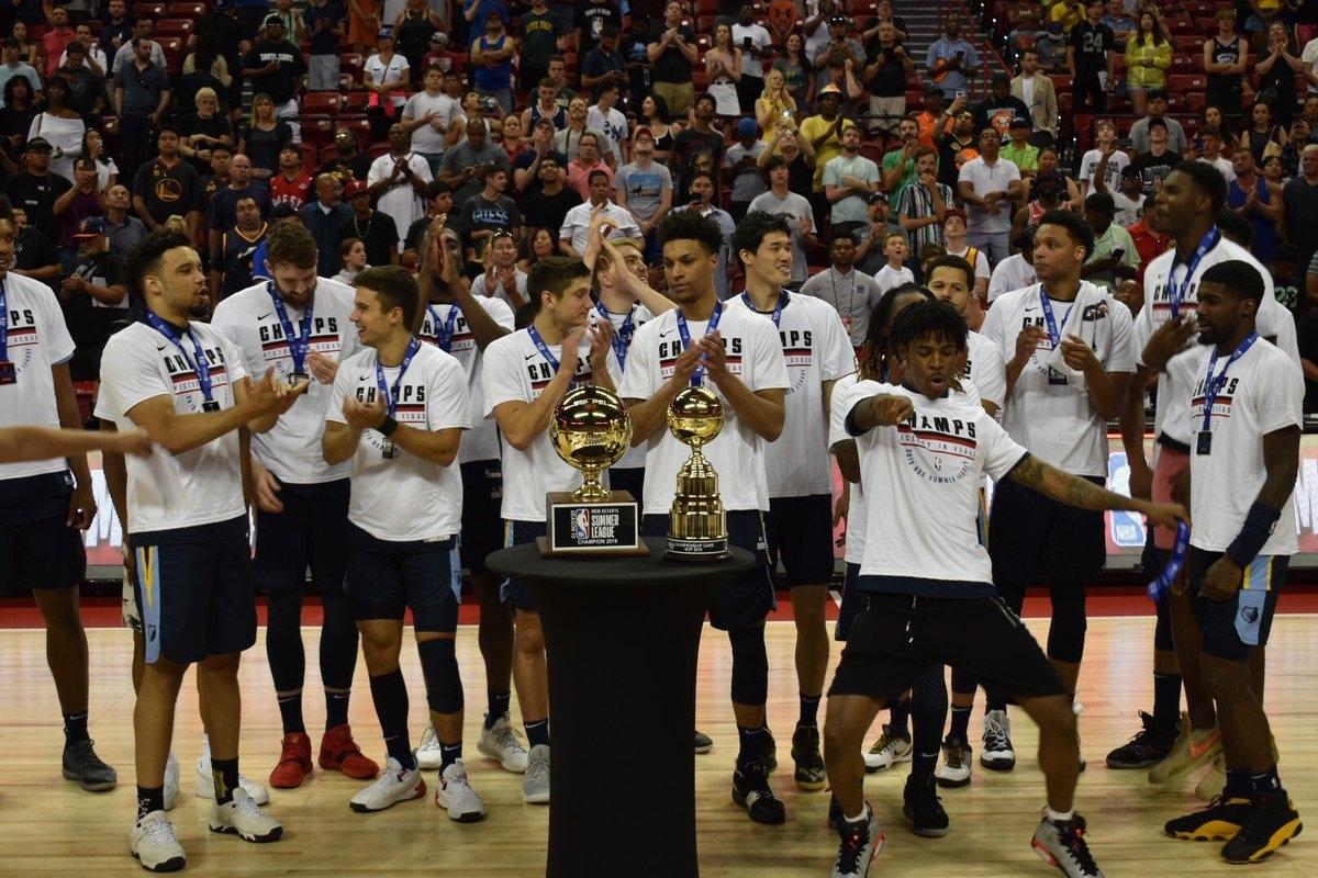 Отборът на Мемфис спечели Лятната лига на Националната баскетболна асоциация