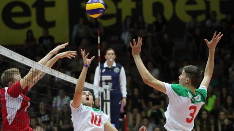 Националният отбор на България за юноши под 17 години записа