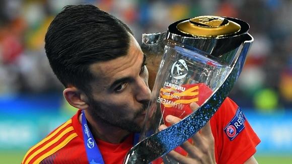 Полузащитникът на Реал Мадрид Дани Себайос е много близо до