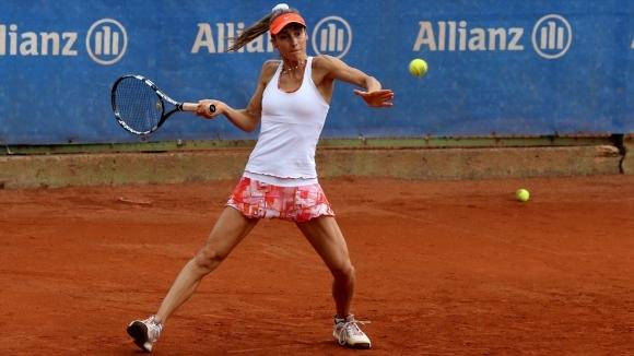 Диа Евтимова отпадна в първия кръг на турнира по тенис