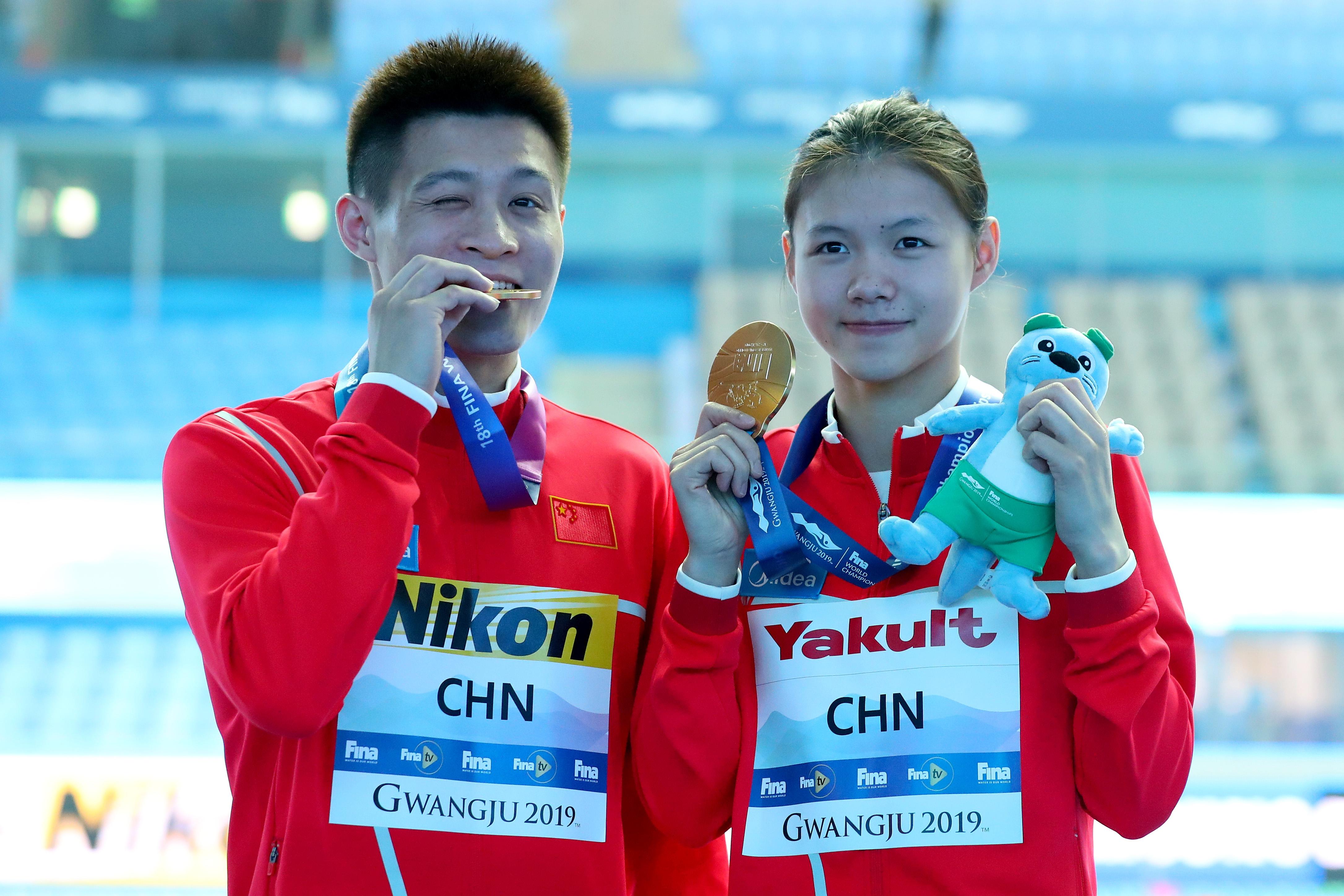 Продължава китайската доминация на световното първенство по плувни спортове в
