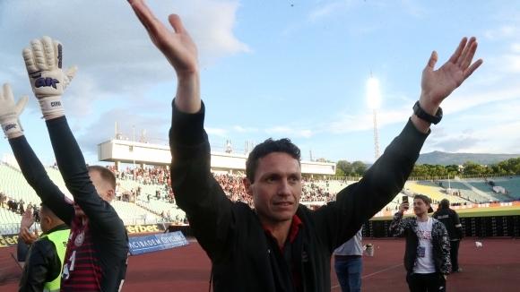 Старши треньорът на ЦСКА-София Добромир Митов сподели първите си впечатления