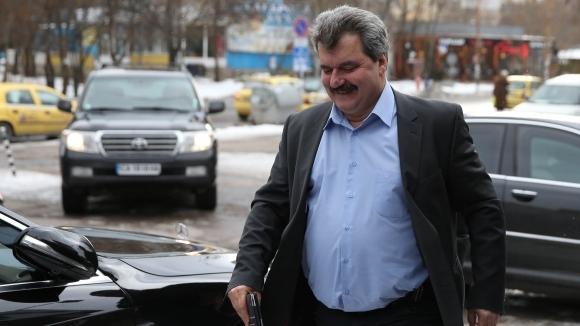 Бившият президент на Левски Тодор Батков говори пред колегите от