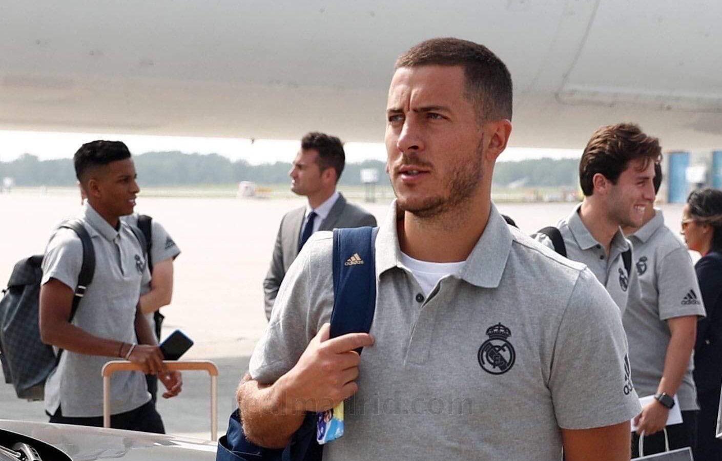 Звездното попълнение на Реал Мадрид Еден Азар е наясно колко