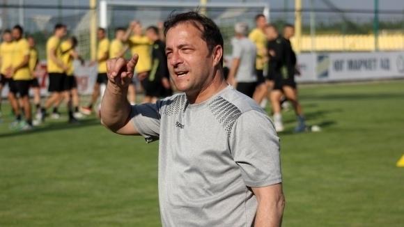 Снимка: Шефовете на Ботев подрязаха крилата на Желко Петрович