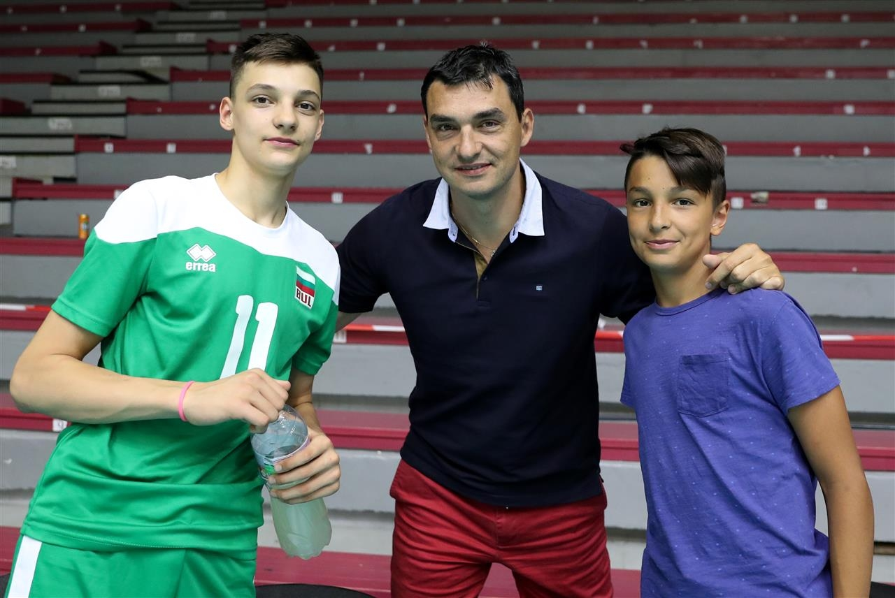 Бившият капитан на националният отбор на България по волейбол Владимир