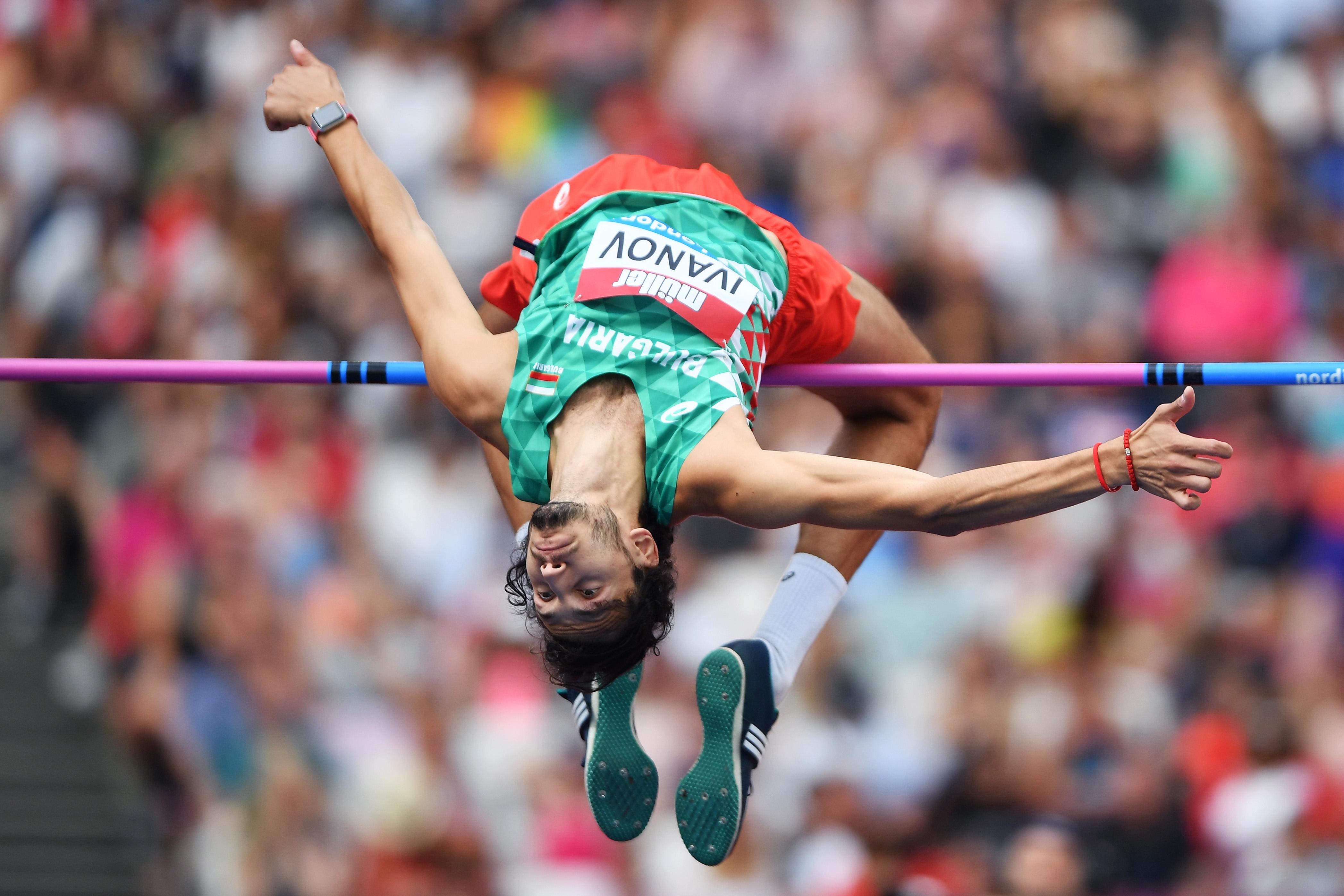 Тихомир Иванов завърши на трето място в скока на височина