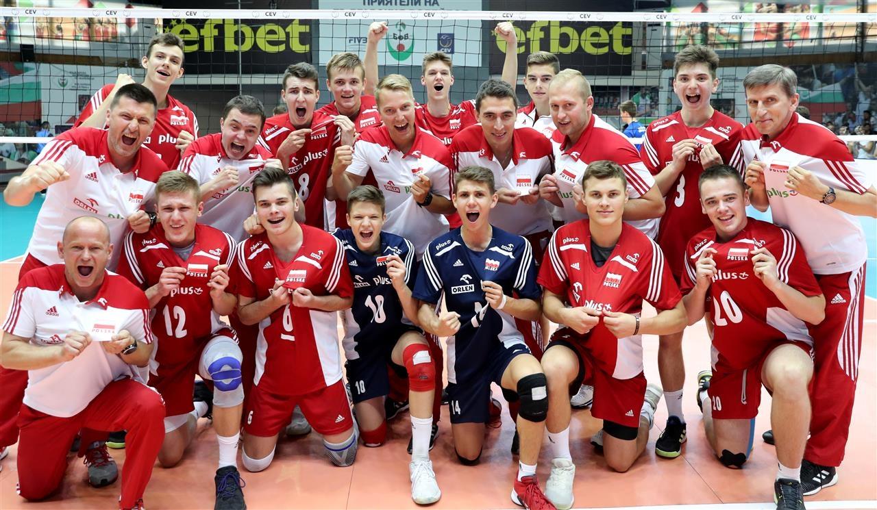 Националният отбор за юноши под 17 години на Полша спечели