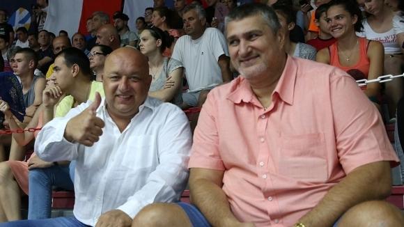 Министърът на младежта и спорта Красен Кралев подкрепи състезателите от