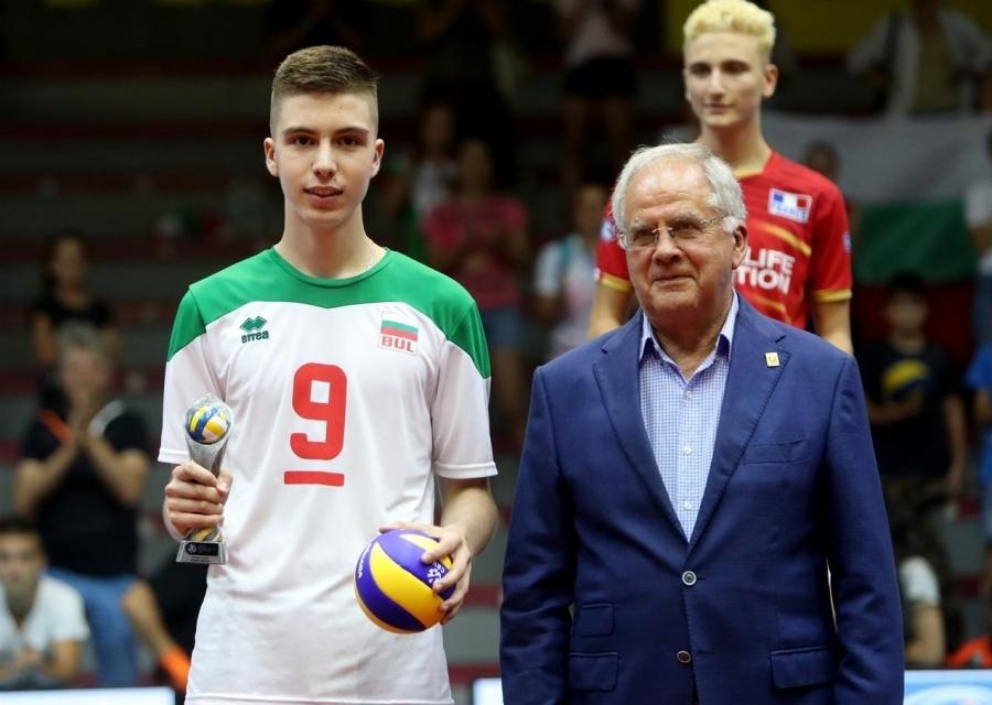 Президентът на БФВолейбол Данчо Лазаров вярва в доброто бъдеще на