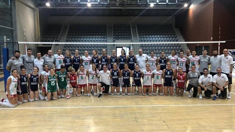 Женският национален отбор на България се поздрави с победа във