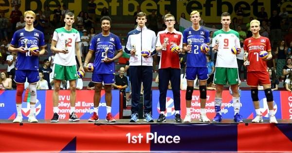Двама българи попаднаха в Идеалния отбор на Европейското първенство за