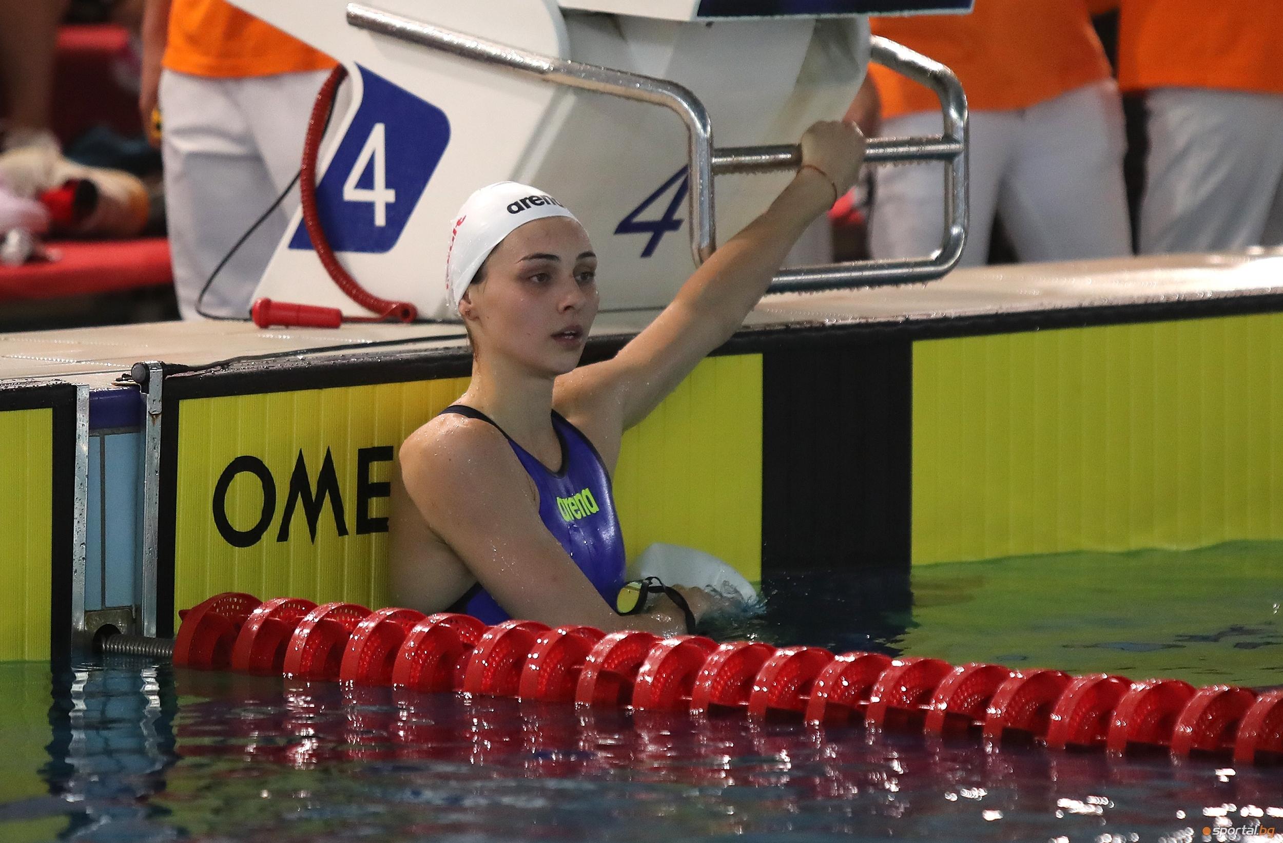 """Габриела Георгиева покри олимпийски норматив """"Б"""" за игрите в Токио"""