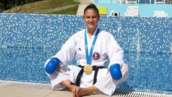 Ивет Горанова продължава да жъне успехи. 19-годишната състезателка от Плевен
