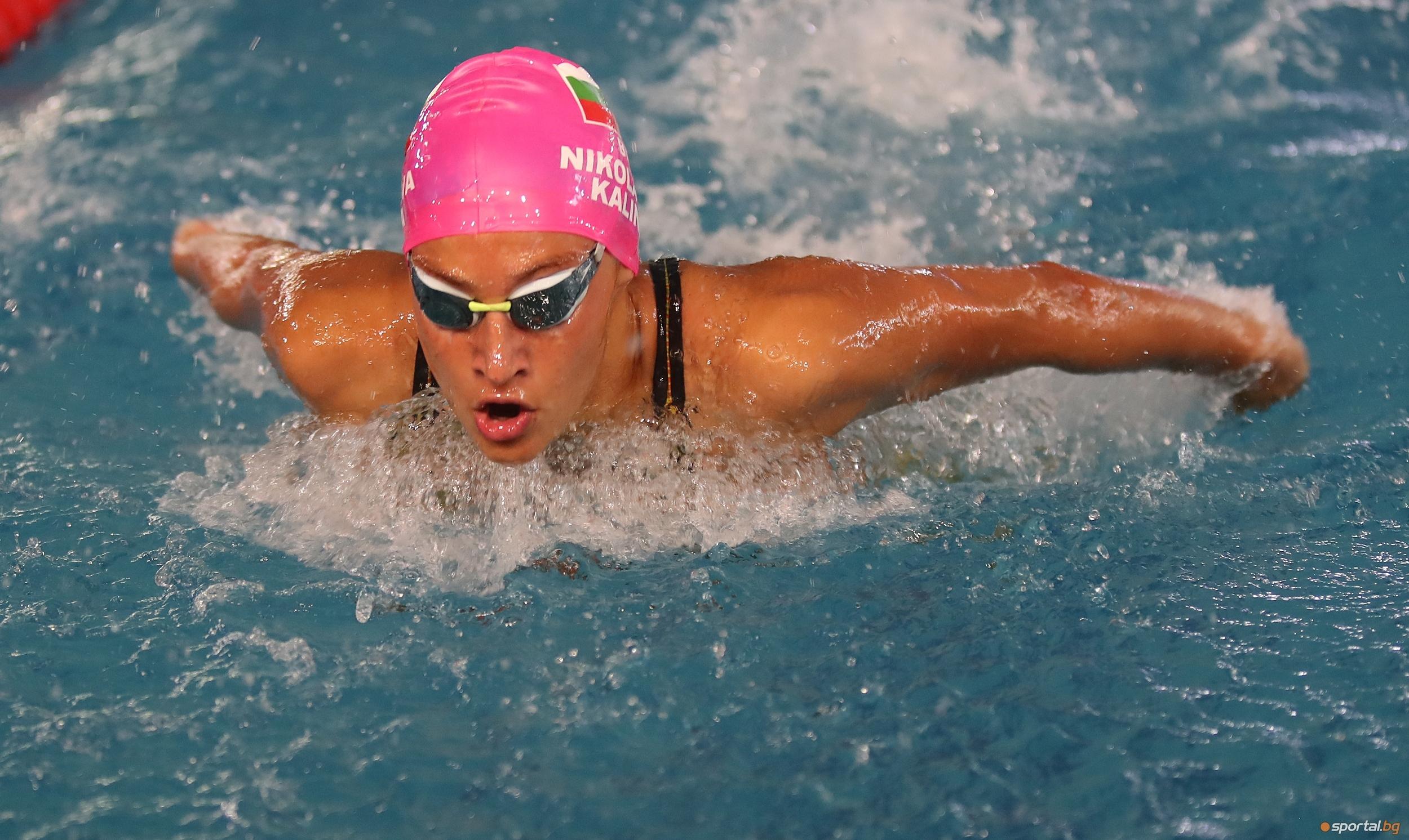 Калина Николаева завърши шеста на 400 метра съчетано плуване във