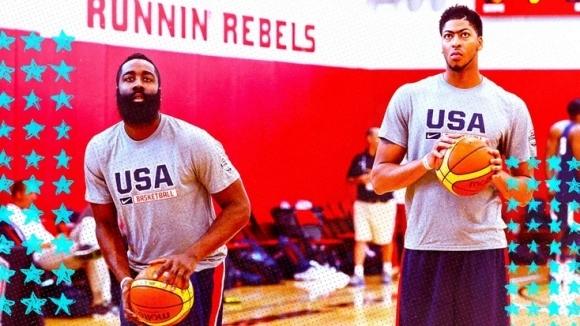 Баскетболният национален отбор на САЩ, който през септември ще се
