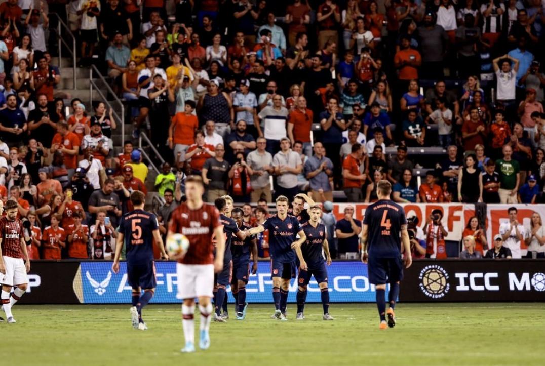 Отборът на Байерн (Мюнхен) победи Милан с 1:0 в двубой