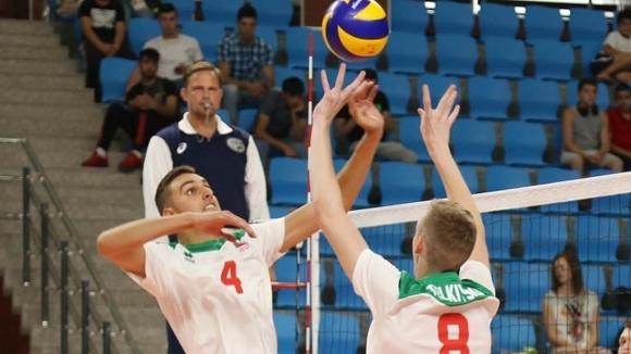 Националният отбор по волейбол на България под 19 години отстъпи