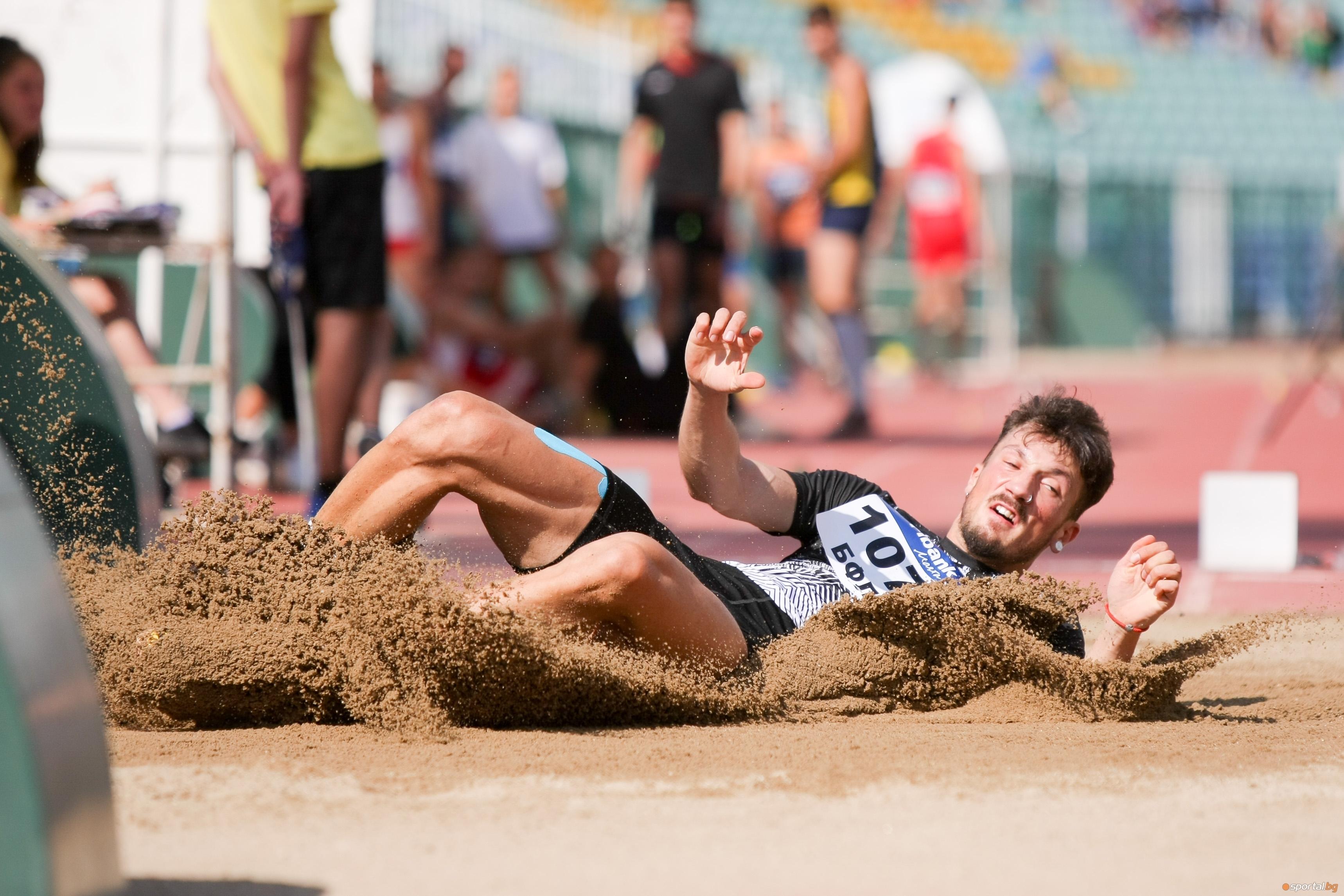 Даниел Добрев (Локомотив-Пловдив) защити националната си титла в скока на