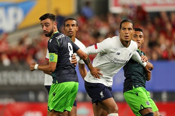 Европейският клубен шампион Ливърпул завърши 2:2 със Спортинг (Лисабон) в