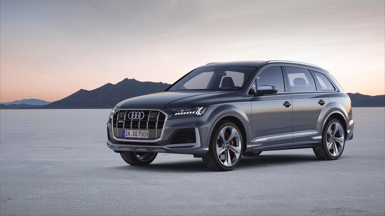 Новият Audi SQ7 TDI предоставя впечатляваща дизелова мощ. Неговият 4.0