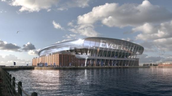 От Евертън показаха плановете си за построяване на нов клубен
