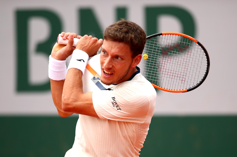 Испанецът Пабло Кареньо-Буста е последният полуфиналист на турнира по тенис