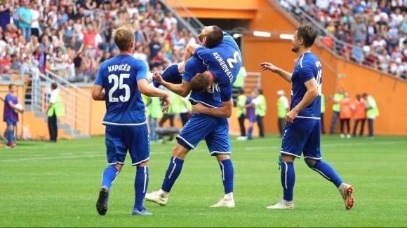 Новакът Тамбов постигна историческа първа победа в елита на руския