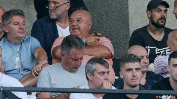 Президентът на Славия Венцеслав Стефанов обяви, че не е очаквал,