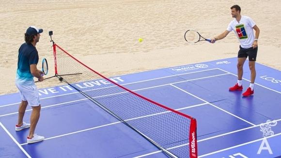 Единственият българин в тенис елита Григор Димитров ще започне участието