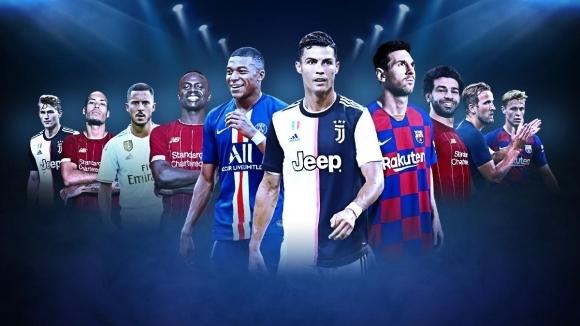 От световната футболна централа ФИФА обявиха 10-мата номинирани за най-добър