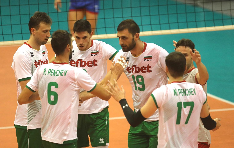 Предвидените контролни срещи на мъжкия национален отбор по волейбол на