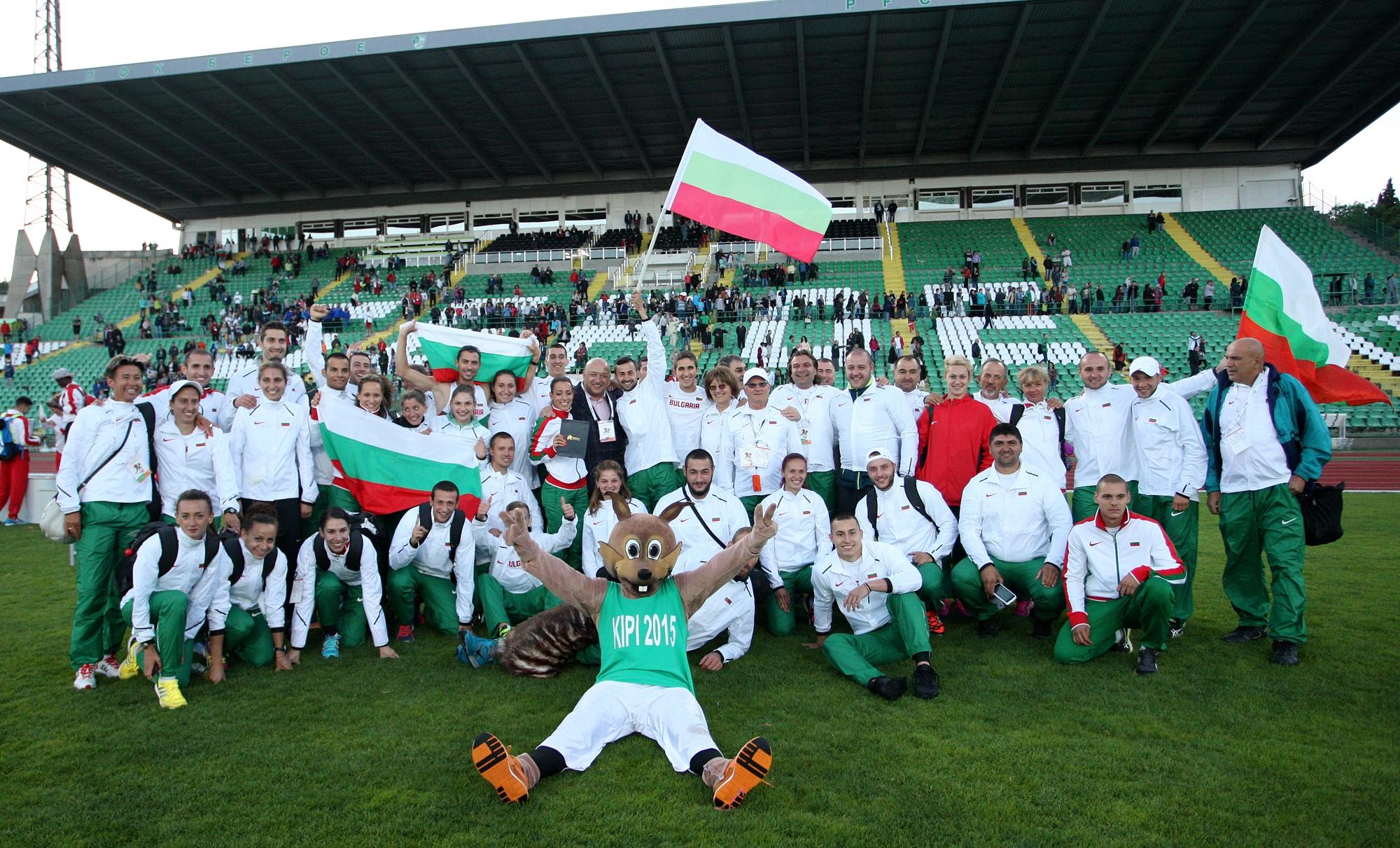 Българската федерация по лека атлетика (БФЛА) обяви състава за Европейското