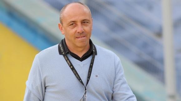 Треньорът на Черно море Илиан Илиев бе много ядосан след