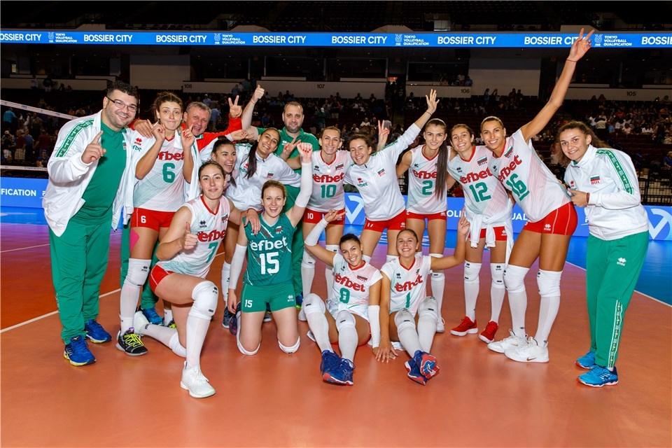 Волейболистките от националния отбор на България започнаха отлично на турнира