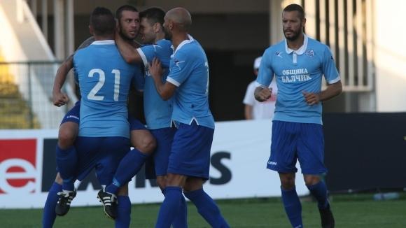 Отборът на Черноморец (Балчик) спечели трудно с 2:1 домакинството си