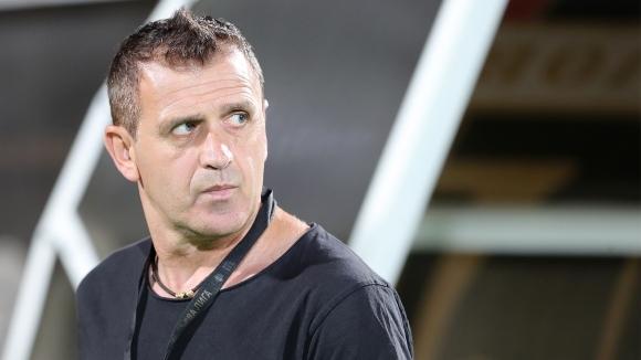 Наставникът на Локомотив (Пловдив) Бруно Акрапович заяви, че е изключително