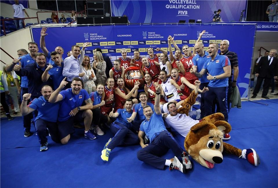 Женският национален отбор на Русия се класира за Олимпиадата в