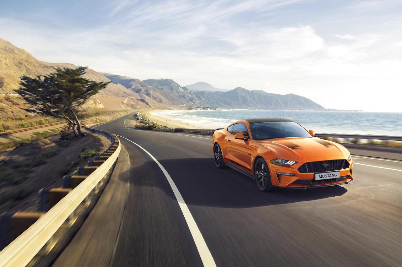 Ford обяви новия специален модел Ford Mustang55 за клиентите в