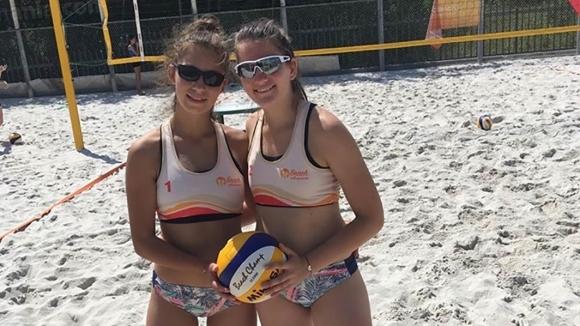 Двойката на Марица (Пловдив) Анета Петрова и Симона Кръстева спечели