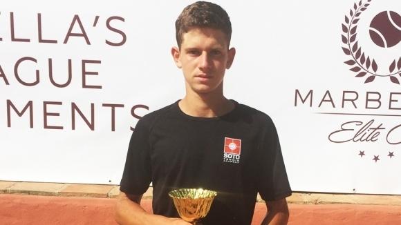 Симон-Антони Иванов се класира за втория кръг на турнира за