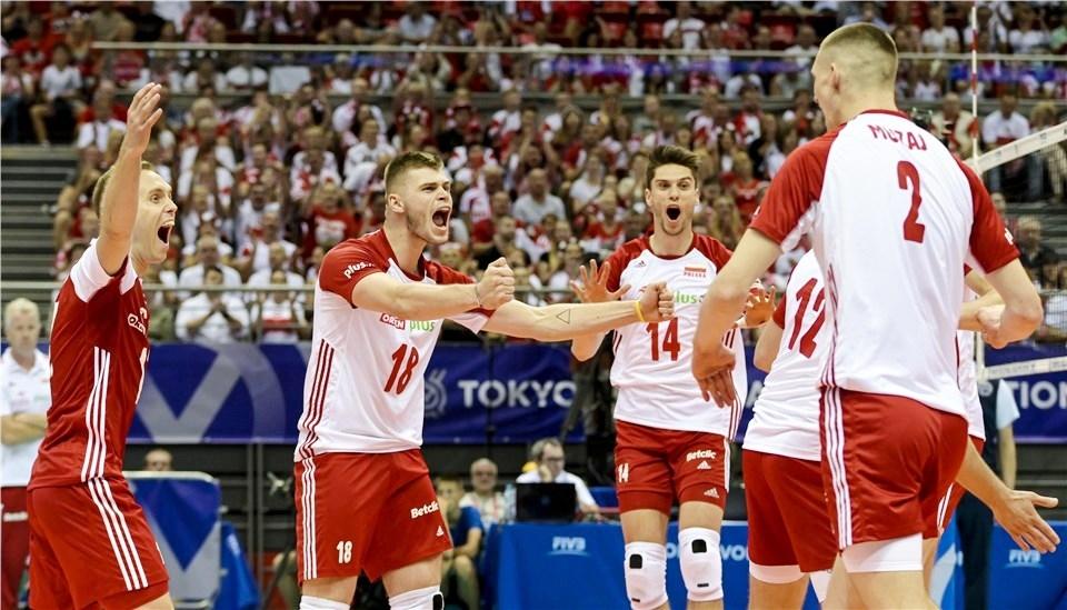 Световният волейболен шампион Полша започна без проблеми участието си на