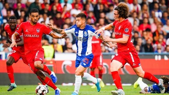 Българският нападател Божидар Краев направи блестящ дебют в португалското първенство.