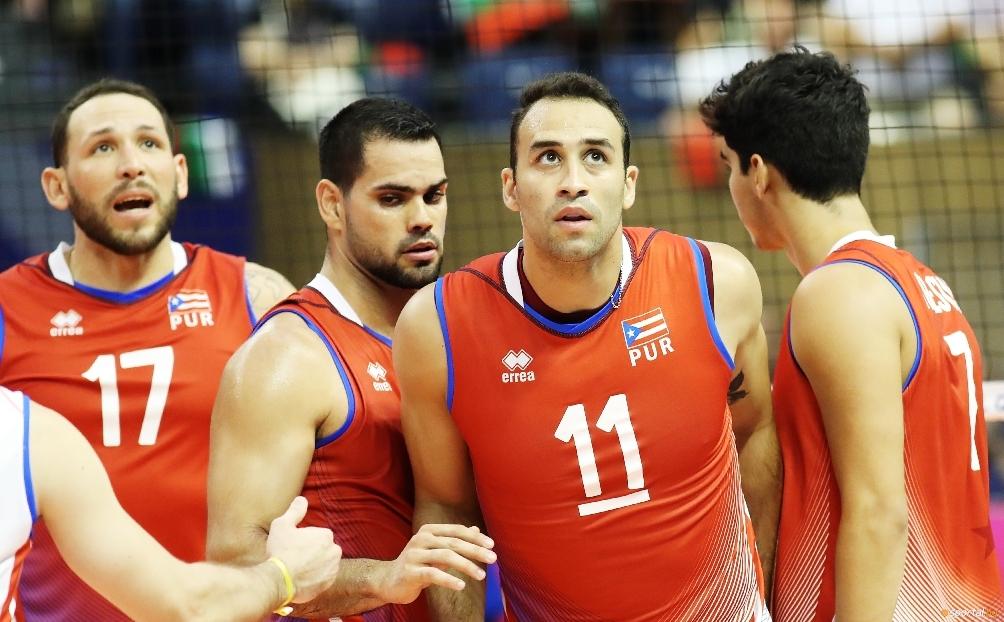 Капитанът и звезда на националния волейболен отбор на Пуерто Рико