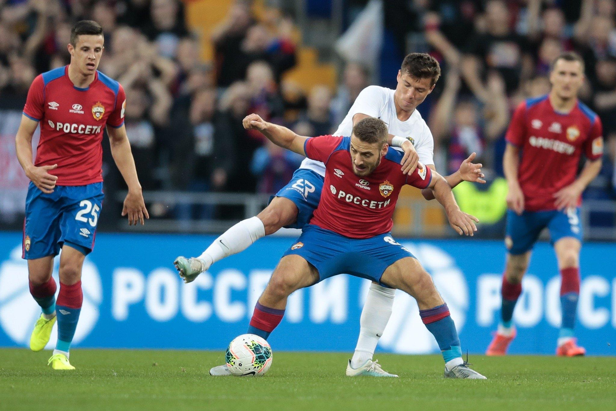 ЦСКА (Москва) не успя да победи дебютанта в Премиер лигата