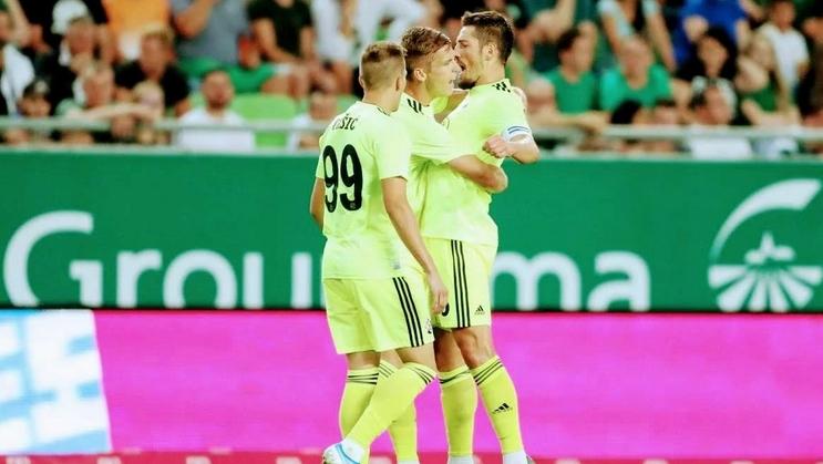 Хърватският шампион Динамо (Загреб) прегази като гост с 4:0 елиминиралия