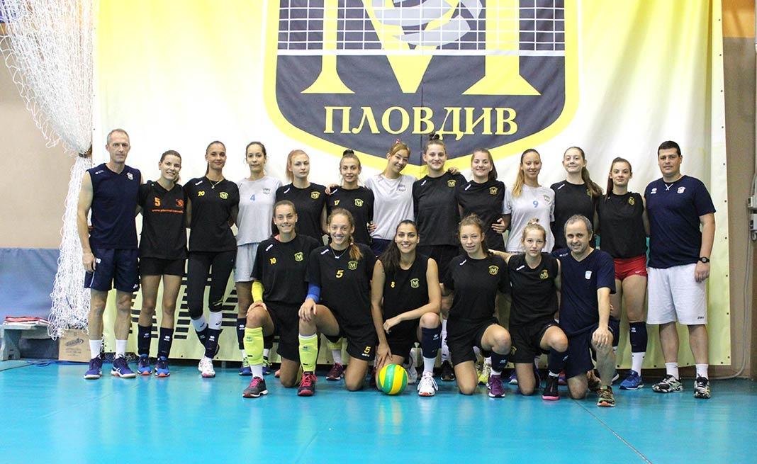 Женският волейболен шампион на България и носител на Купа България