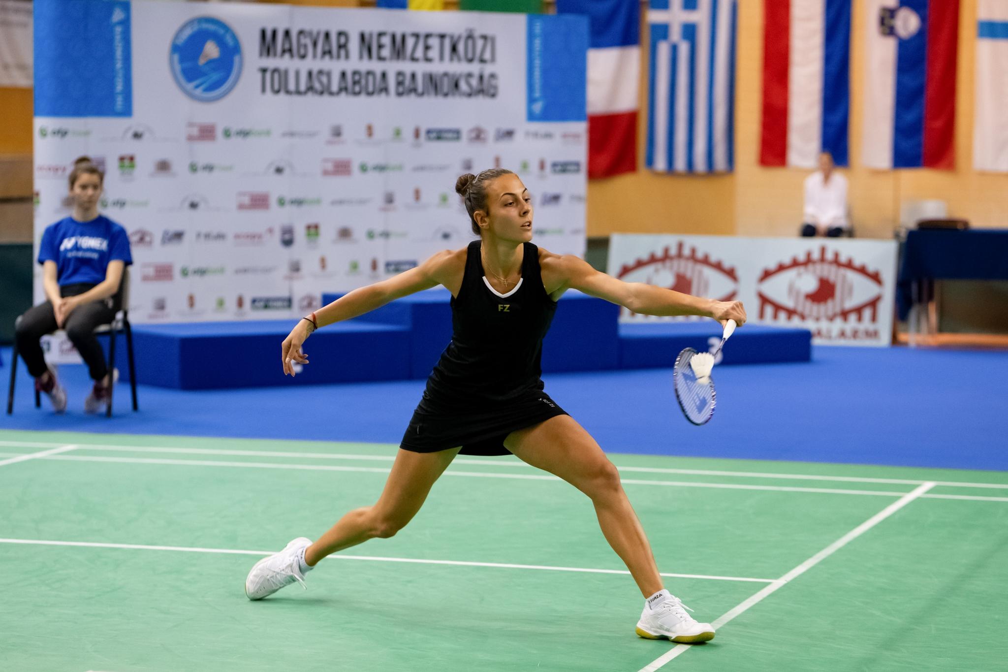 Мария Мицова се класира за финала в турнира по бадминтон