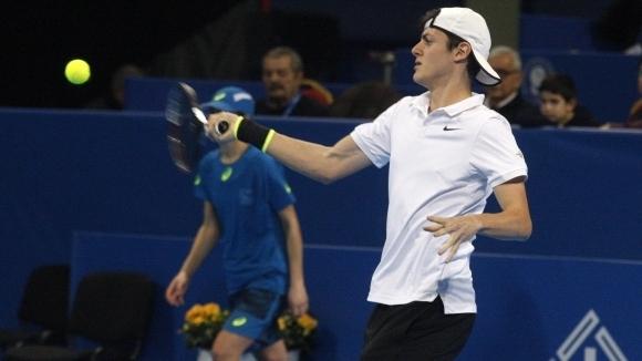 Българинът Александър Лазаров се класира за втория кръг на турнира